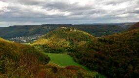Леса плохого Urach, Германии Стоковое Изображение