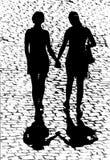 лесбиянки стоковое изображение