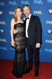 Лесли Mann и Judd Apatow Стоковая Фотография RF