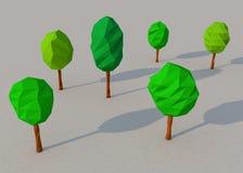 Лесное дерево 3d Стоковые Фото