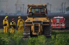 Лесной пожар Калифорнии стоковые фото