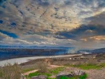 Лесной пожар на Колорадо стоковое изображение
