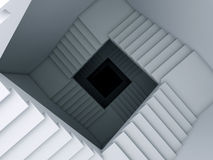 лестница безграничности к Стоковое Фото