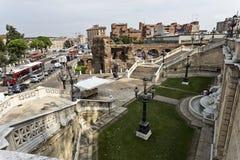 Лестница болонья Montagnola стоковое изображение rf