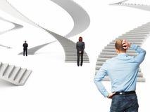 Лестница будущего стоковое изображение
