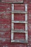 Лестница двери амбара Стоковые Фотографии RF