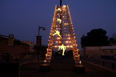 Лестница водя к небу Стоковая Фотография