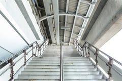 Лестница входа в станции метро Стоковое Фото