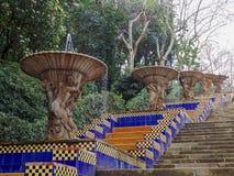 Лестница в Барселоне Стоковые Изображения