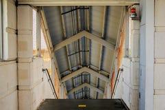 Лестница в вокзале в Флориде Стоковая Фотография RF