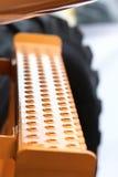 Лестница в гигантскую строительную машину движенца земли Стоковая Фотография RF