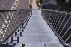 Лестница в дороге Стоковая Фотография