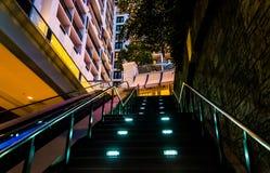 Лестница в курорте Gaylord национальном, в национальной гавани, мамы Стоковая Фотография RF