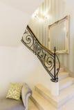 Лестница в доме стоковые изображения