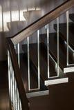 Лестница в современном интерьере Стоковая Фотография
