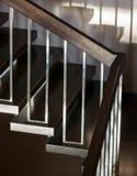 Лестница в современном интерьере Стоковое Изображение