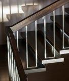 Лестница в современном интерьере Стоковое фото RF
