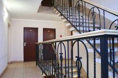лестница гостиницы стоковая фотография
