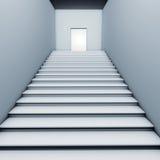 лестница двери Стоковые Изображения