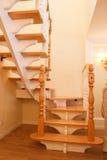 лестница деревянная Стоковое Изображение RF