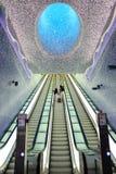 Лестница девушки взбираясь Стоковые Фото