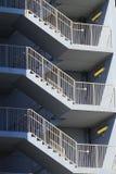 Лестница зигзага Стоковое фото RF