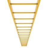 Лестница золота Стоковое фото RF