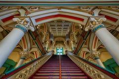 Лестница здание муниципалитета Ричмонда старая Стоковая Фотография RF