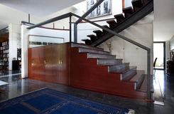 Лестница дизайна Стоковые Фото