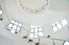 Лестница и купол внутрь Стоковое фото RF