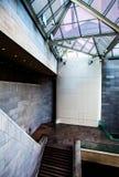 Лестница и современная архитектура внутри восточного здания th Стоковая Фотография