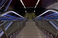 Лестница и eksalator Стоковая Фотография RF