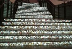 Лестница камня Стоковые Изображения RF