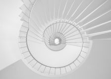 Лестница круга Стоковые Фото
