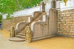 Лестница к дереву Bodhi Стоковая Фотография RF