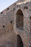 Лестница к замку Palamidi стоковая фотография rf