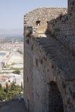 Лестница к замку Palamidi стоковые изображения rf