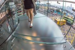 Лестница к магазину Яблока Стоковые Изображения