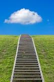 Лестница к небу Стоковые Фото