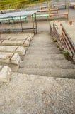 Лестница к дну Стоковая Фотография