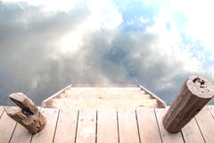 Лестница к раю Стоковые Изображения RF