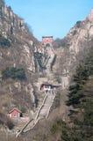 Лестница к раю, Taishan, Китай стоковые изображения