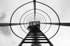 Лестница маяка Стоковая Фотография