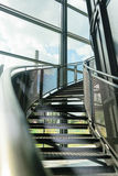 Лестница металла Стоковые Фотографии RF