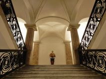 Лестница музея Стоковое Фото