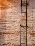 Лестница на верхней части Стоковое фото RF