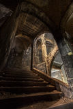 Лестница на клиниках Heal Beelitz Стоковые Фото