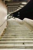 Лестница на ноче стоковые фотографии rf