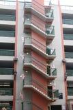 Лестница на снаружи здания Стоковая Фотография