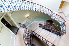 Лестница Нельсона ротонды на доме Сомерсета стоковое фото rf